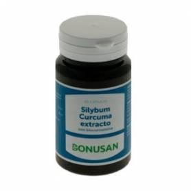 SILYBUM CURCUMA EXTRACTO 60cap BONUSAN Plantas Medicinales 28,83€