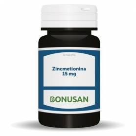 ZINCMETIONINA 15mg 90comp BONUSAN Suplementos nutricionales 13,56€