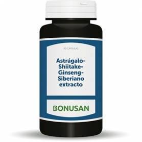 ASTRAGALO GINSENG SHITAKE 90cap BONUSAN Plantas Medicinales 28,93€