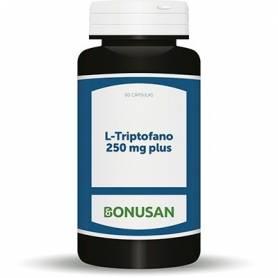 L-TRIPTOFANO 250mg PLUS 60cap BONUSAN Suplementos nutricionales 21,61€
