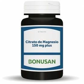 CITRATO DE MAGNESIO 150mg 60comp BONUSAN Suplementos nutricionales 17,31€
