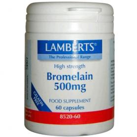 BROMELINA 400MG 60cap LAMBERTS Plantas Medicinales 36,15€