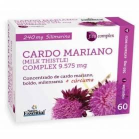 CARDO MARIANO COMPLEX 60cap NATURE ESSENTIAL Suplementos nutricionales 15,50€