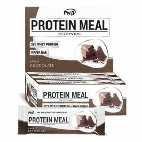 BARRRITAS PROTEIN MEAL CHOCOLATE 35g x 12ud PWD