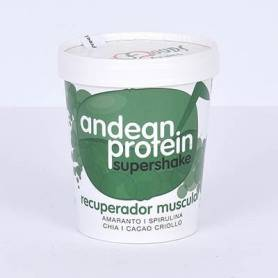ANDEAN PROTEIN SUPERSHAKE RECUPERADOR MUSCULAR 250g ENERGY FRUITS Suplementos nutricionales 8,64 €