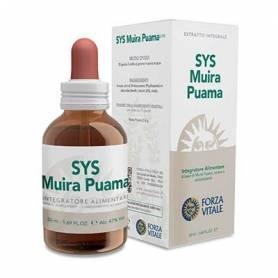 SYS MUIRA PUAMA 50ml FORZA VITALE Plantas Medicinales 15,75€