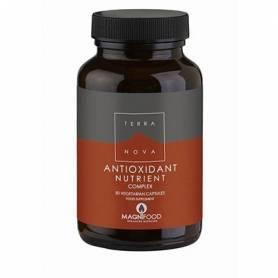 NUTRIENTES ANTIOXIDANTES COMPLEX 50cap TERRA NOVA Suplementos nutricionales 18,31€