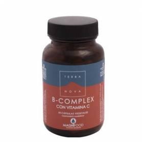 B-COMPLEX CON VITAMINA C 50cap TERRA NOVA Suplementos nutricionales 13,91€