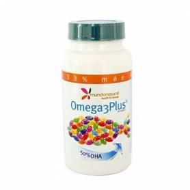 OMEGA 3 PLUS 120cap MUNDONATURAL Suplementos nutricionales 30,22€