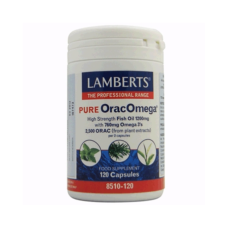 ORACOMEGA PURO 120cap LAMBERTS Suplementos nutricionales 48,69€