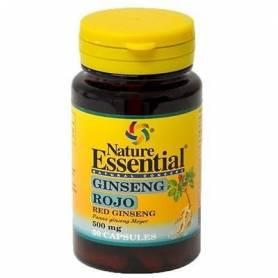 GINSENG ROJO 500mg 50cap NATURE ESSENTIAL Suplementos nutricionales 4,58€