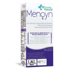 MENOYN ISOFLAVONAS 30cap FARMA NATURAL Suplementos nutricionales 33,58€