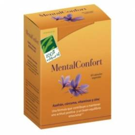 MENTALCONFORT 30cap CIEN POR CIEN NATURAL Suplementos nutricionales 24,32€