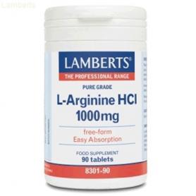 L-ARGININA 1000mg 90comp LAMBERTS L Arginina 35,45€