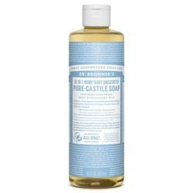JABON DE CASTILLA LIQUIDO NEUTRO BEBE 473ml DR. BRONNER'S Cosmética e higiene natural 14,49€