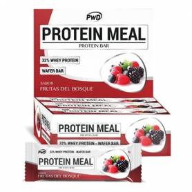 BARRRITAS PROTEIN MEAL F.BOSQUE 35g x 12ud PWD