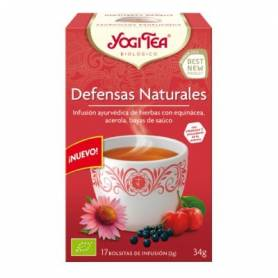 DEFENSAS NATURALES Infusión BIO 17ud YOGI TEA Plantas Medicinales 3,33 €