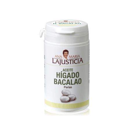 HIGADO DE BACALAO 90perl ANA MARIA LAJUSTICIA Suplementos nutricionales 6,10€