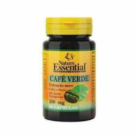 CAFE VERDE 200mg 60cap NATURE ESSENTIAL Suplementos nutricionales 7,17€