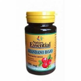 ARANDANO ROJO 2000mg 60cap NATURE ESSENTIAL Plantas Medicinales 7,21€