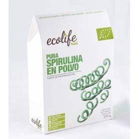 ESPIRULINA EN POLVO PURA BIO 250g ECOLIFE FOOD Suplementos nutricionales 11,69€