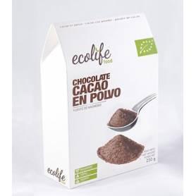 CACAO EN POLVO BIO 250g ECOLIFE FOOD Suplementos nutricionales 8,86€