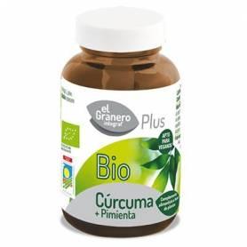 CURCUMA + PIMIENTA PLUS BIO 440mg 60cap EL GRANERO INTEGRAL Suplementos nutricionales 11,08€