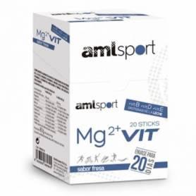 MG2 + VIT sabor fresa 20sb AMLSPORT Nutrición Deportiva 13,38€