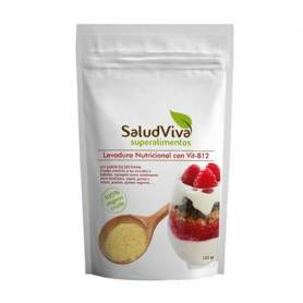 LEVADURA NUTRICIONAL CON VITAMINA B12 125g SALUD VIVA Suplementos nutricionales 5,91€