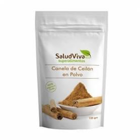 CANELA DE CEYLAN POLVO 125g SALUD VIVA Suplementos nutricionales 5,01€