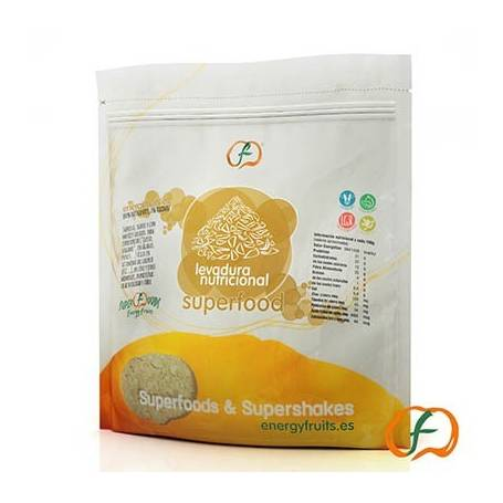 Levadura nutricional B12 superfood 250g ENERGY FRUITS Suplementos nutricionales 9,79€