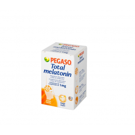 TOTAL MELATONINA 1mg 180comp PEGASO Suplementos nutricionales 12,02€