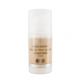 MAQUILLAJE FLUIDO 01 LIGHT BEIGE 30ml NEOBIO