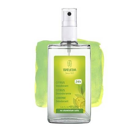 DESODORANTE CITRUS SPRAY 100ml WELEDA Cosmética e higiene natural 10,54 €