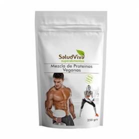 MEZCLA DE PROTEINAS VEGANAS 250g SALUD VIVA Suplementos nutricionales 12,22€