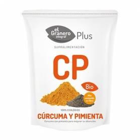 CURCUMA Y PIMIENTA BIO 200gr EL GRANERO INTEGRAL Suplementos nutricionales 9,16€