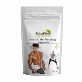 MEZCLA DE PROTEINAS VEGANAS 500g SALUD VIVA Suplementos nutricionales 27,18€