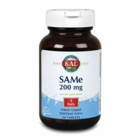 SAMe 200mg 30cap KAL Suplementos nutricionales 42,08€