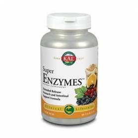 SUPER ENZYMES 60comp KAL Suplementos nutricionales 21,51€