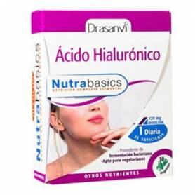 NUTRABASICS ACIDO HIALURONICO 470mg 30cap DRASANVI