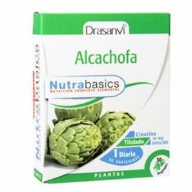 NUTRABASICS ALCACHOFA 484mg 30cap DRASANVI Plantas Medicinales 8,40€