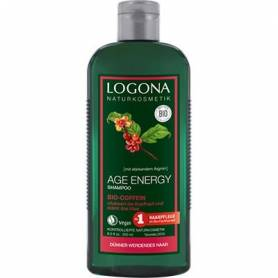 CHAMPU AGE ENERGY CAFEINA 250ml LOGONA