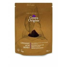 ACAI POLVO BIO 75g GREEN ORIGINS Suplementos nutricionales 15,27€