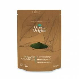 CLORELLA POLVO BIO 150g GREEN ORIGINS Suplementos nutricionales 13,23€