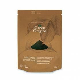 ESPIRULINA POLVO BIO 150g GREEN ORIGINS Suplementos nutricionales 9,02€