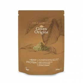 CAÑAMO POLVO BIO 200g GREEN ORIGINS Suplementos nutricionales 6,25€