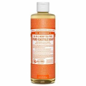 Jabón liquido de Castilla árbol del té 473ml DR. BRONNER'S Cosmética e higiene natural 14,20€