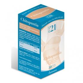 PLAN 21 CHITOPUNTIA 50cap PLAMECA Plantas Medicinales 13,33€