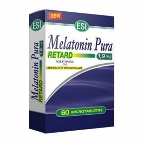 MELATONINA PURA RETARD 1,9mg 60comp TREPAT DIET Suplementos nutricionales 14,99€