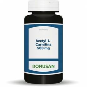 ACETYL-L-CARNITINA 500mg 60cap BONUSAN L Carnitina 32,25€